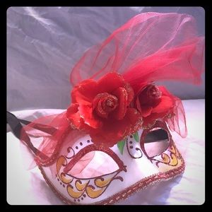 Home decor masquerade mask hand painted Italy